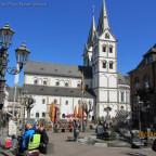 Kirche / Marktplatz Bopard